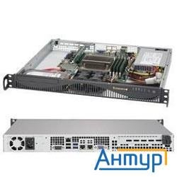 Supermicro Sys-5019s-ml, 1u No Cpu(1) E3-1200v5/6thgencorei3/ No Memory(4)/ On Board Raid 0/1/5/10/
