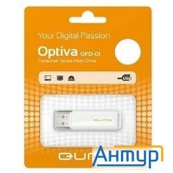Usb 2.0 Qumo 16gb Optiva 01 White [qm16gud-op1-white]