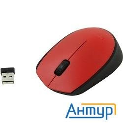 910-004641 Logitech Wireless Mouse M171, Red