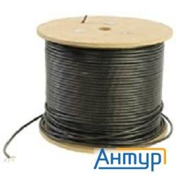 5bites Utp / Solid / 5e / 24awg / Copper / Pvc+pe / Black / Outdoor / Dru Us5505-305ce