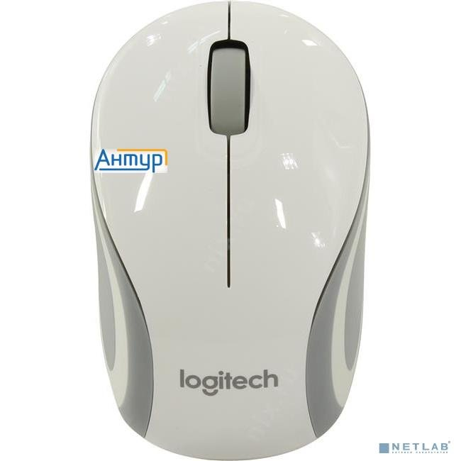 910-002735 Logitech Wireless Mini Mouse M187 White-silver Usb