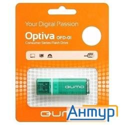Usb 2.0 Qumo 16gb Optiva 01 Green [qm16gud-op1-green]