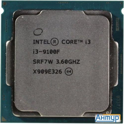 Cpu Intel Core I3-9100f Coffee Lake Box {3.60Ггц, 6МБ, Socket 1151v2}