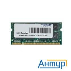 Patriot Ddr2-800 (pc2-6400) 2gb So-dimm [psd22g8002s]