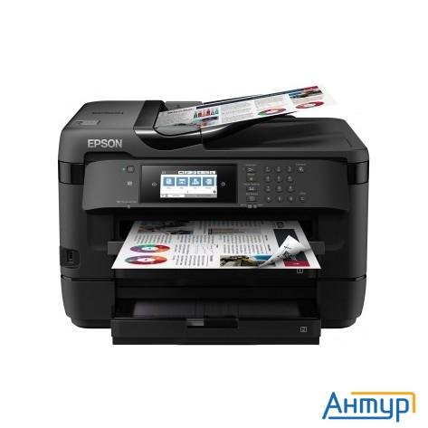 Epson Workforce Wf-7720dtwf C11cg37412 (А3+, 4 цвета ,32/20 стр/мин ,1200x2400 Dpi,duplex A3 формата