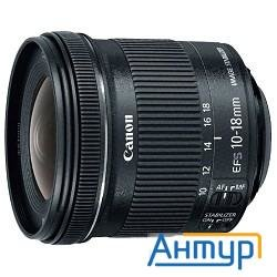 Объектив Ef-s 10-18mm 4.5-5.6 Is Stm