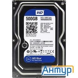 500gb Wd Caviar Blue (wd5000azrz) Serial Ata Iii, 5400 Rpm, 64mb Buffer