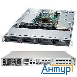 "Supermicro Superserver Sys-5019s-wr, Single Skt, Wio, C236 Chipset, 4 X Dimms, 4 X 3.5"" Hot Swap Sat"