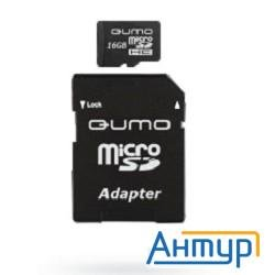 Micro Securedigital 16gb  Qumo (qm16micsdhc10) Hc10