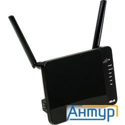 Asus 4g-n12 Wireless-n300 Lte Modem Router 802.11n, 300 Mbps, 3g/4g & Ethernet Wan, Two External Ant