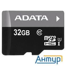 Micro Securedigital 32gb  A-data Uhs-i Class 10 (ausdh32guicl10-ra1) + адаптер Sd