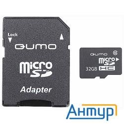 Micro Securedigital 32gb  Qumo (qm32gmicsdhc10u1) Cl10 Uhs-i