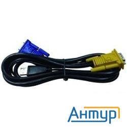 D-link Dkvm-ipvucb  2 In 1 Usb Kvm Cable In 1.8m (6ft) For Ipkvm Devices