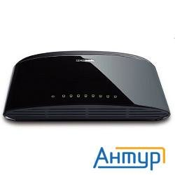 D-link Des-1008d/(k2a/k3a)ru/j1a/j2a/l2a 8-port Utp 10/100mbps, Switch Palm-top, Unmanaged, Desktop