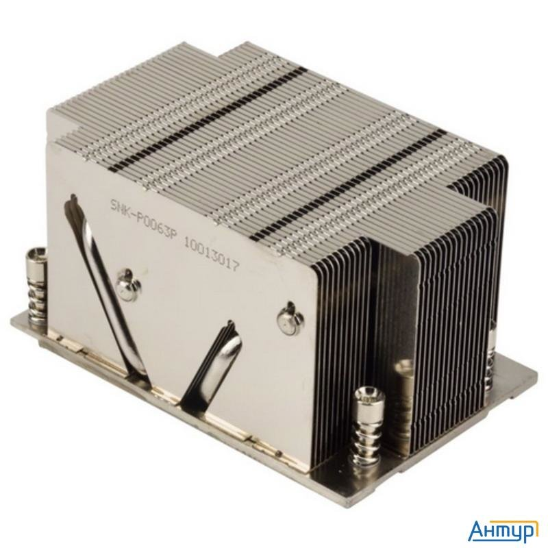 Процессор Supermicro 2u Passive Cpu Heat Sink For Amd Socket Sp3 Processors