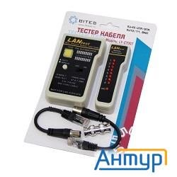 5bites Ly-ct007 Тестер кабеля  для Utp/stp Rj45, Bnc, Rj11/12