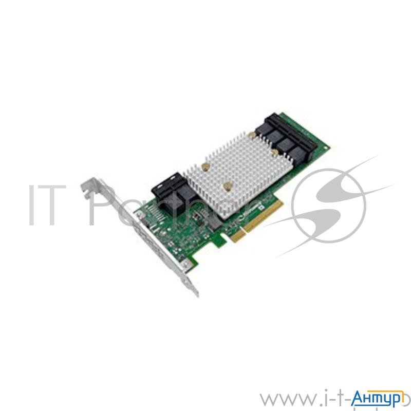 Контроллер жестких дисков Microsemi Adaptec Hba 1100 24i Single,24 Internal Ports,pcie Gen3,x8,,,,fl