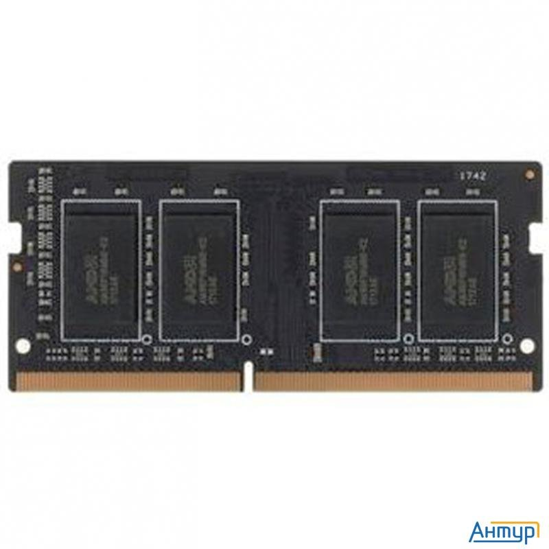 Модуль памяти Amd So Dimm Ddr3l 2gb 1600mhz Amd R532g1601s1sl Uo Oem Pc3 12800 Cl11  204 Pin 1.35В