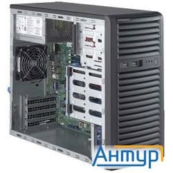Supermicro Superserver Mid-tower 5039d-i Cpu(1) E3-1200v5/ Nohs/ No Memory(4)/ On Board Raid 0/1/5/1