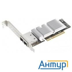 Asus Peb-10g/57840-2t Network Adapter, Dual Port (rj-45), Bcm 57840s, Pci-e Gen3 X8, Pxe Boot, Iscsi