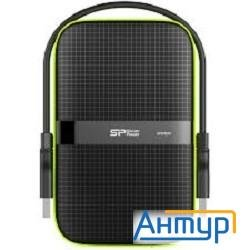 "Silicon Power Portable Hdd 1tb Armor A60 Sp010tbphda60s3k {usb3.0, 2.5"", Black}"
