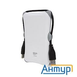 "Silicon Power Portable Hdd 1tb Armor A30 Sp010tbphda30s3w {usb3.0, 2.5"", Shockproof, White}"