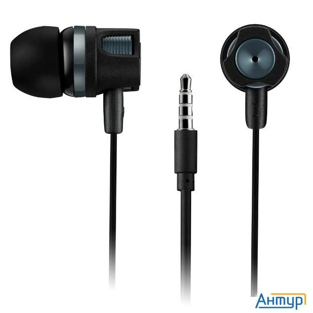 Canyon Cne-cep3dg Stereo Earphones With Microphone, 1.2m, Dark Gray
