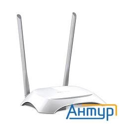 Tp-link Tl-wr840n 300mbps Wireless N Router, Broadcom, 2t2r, 2.4ghz, 802.11b/g/n, 1 10/100mbps Wan +