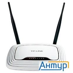 Tp-link Tl-wr841n 300mbps Wireless N Router, Atheros, 2t2r, 2.4ghz, 802.11n/g/b, Built-in 4-port Swi