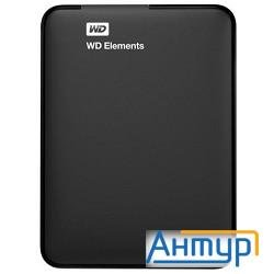 "Wd Portable Hdd 1tb Elements Portable Wdbuzg0010bbk-wesn {usb3.0, 2.5"", Black}"