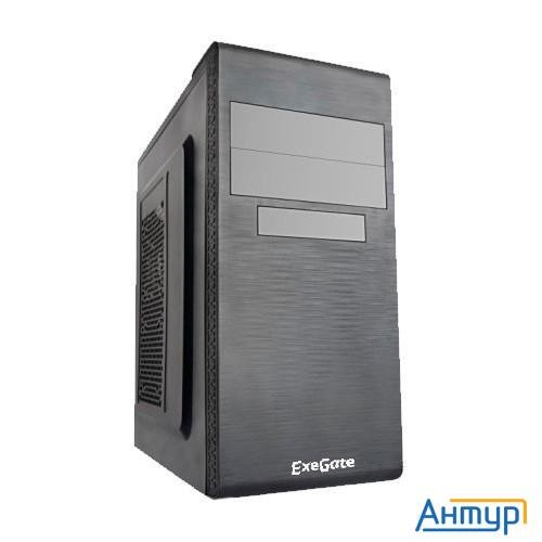 Exegate Ex269434rus Корпус Miditower Un-603 Black, Atx, <без БП> 2*usb, Audio