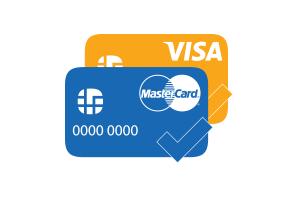 Оплата картами (VISA, MasterCard, МИP)